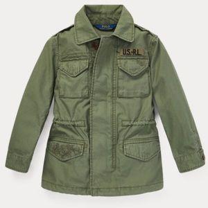 NWT Polo Ralph Lauren Girls Cotton Jacket